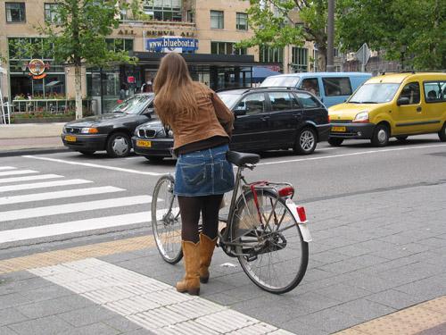 Cyclist Amsterdam